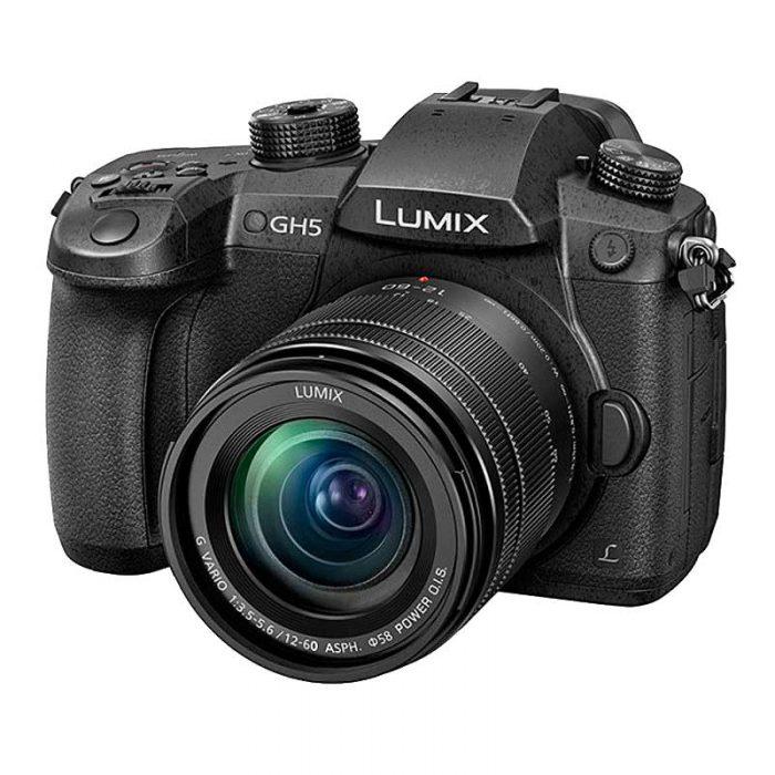 Panasonic Lumix DC-GH5EG-K mit Objektiv