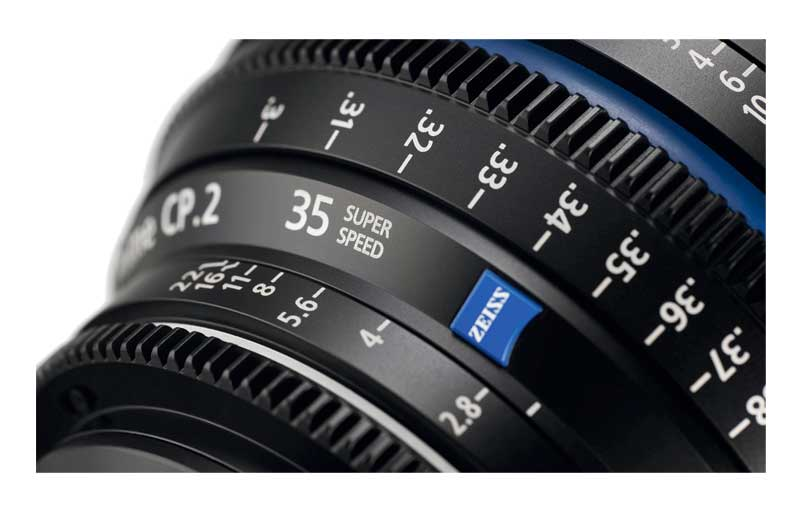 ZEISS Compact Prime CP.2 T1.5 / 35mm T* Super Speed Objektiv