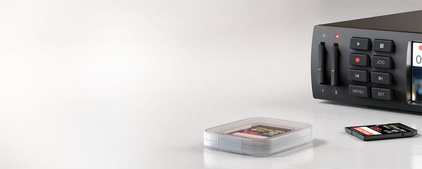 Blackmagic Design HyperDeck Studio Mini leihen, mieten Toneart Kameraverleih
