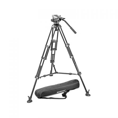 Manfrotto 504HD Neiger 546GB Stativ MBAG100PN Rental - Toneart Kameraverleih
