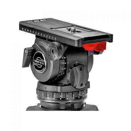 Sachtler Fluidkopf Video 18 leihen - Toneart Kameraverleih