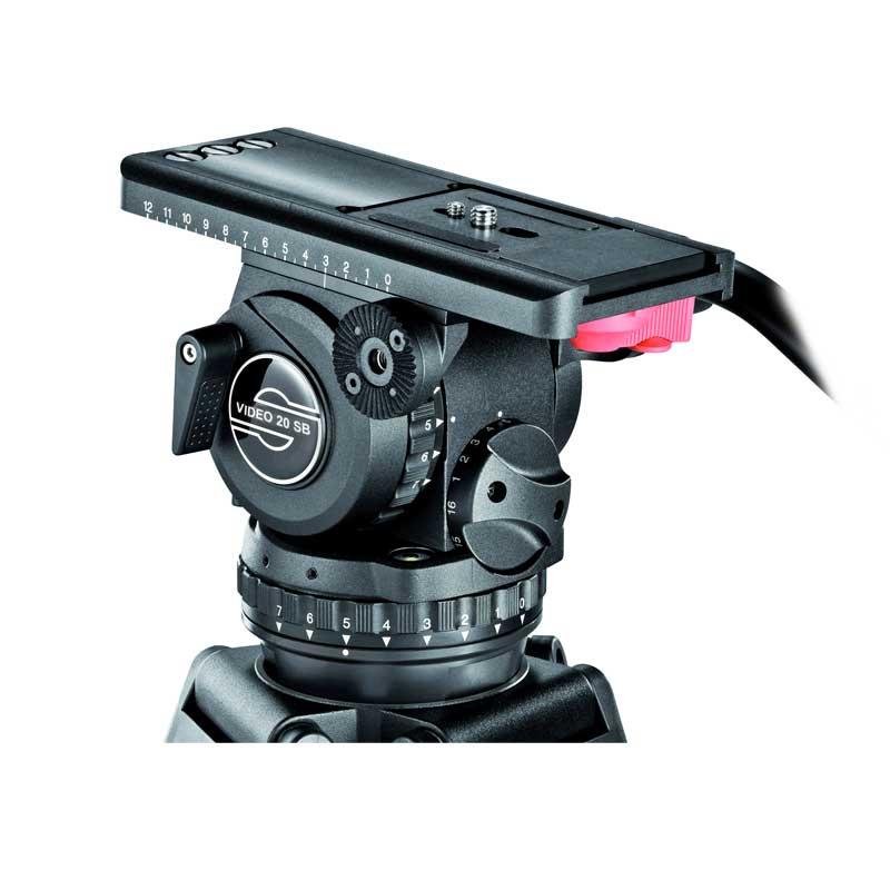 Sachtler Stativ Video20 SB leihen - Toneart Kameraverleih