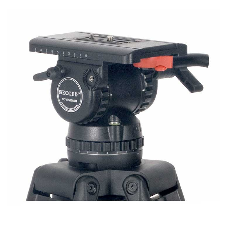 Secced Tripod Head SC-V15/100AH - Rental - Toneart Kameraverleih
