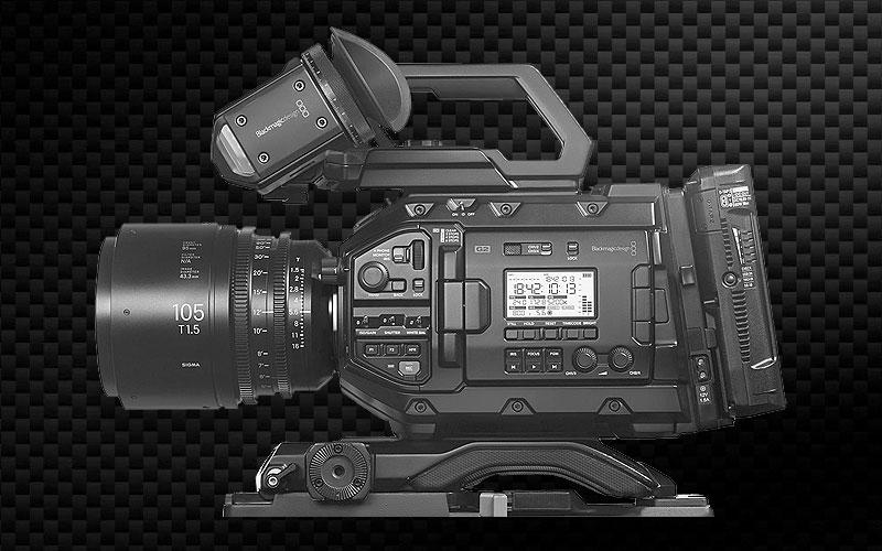 Blackmagic Design URSA G2 - leihen, mieten im TONEART Kameraverleih Deutschland