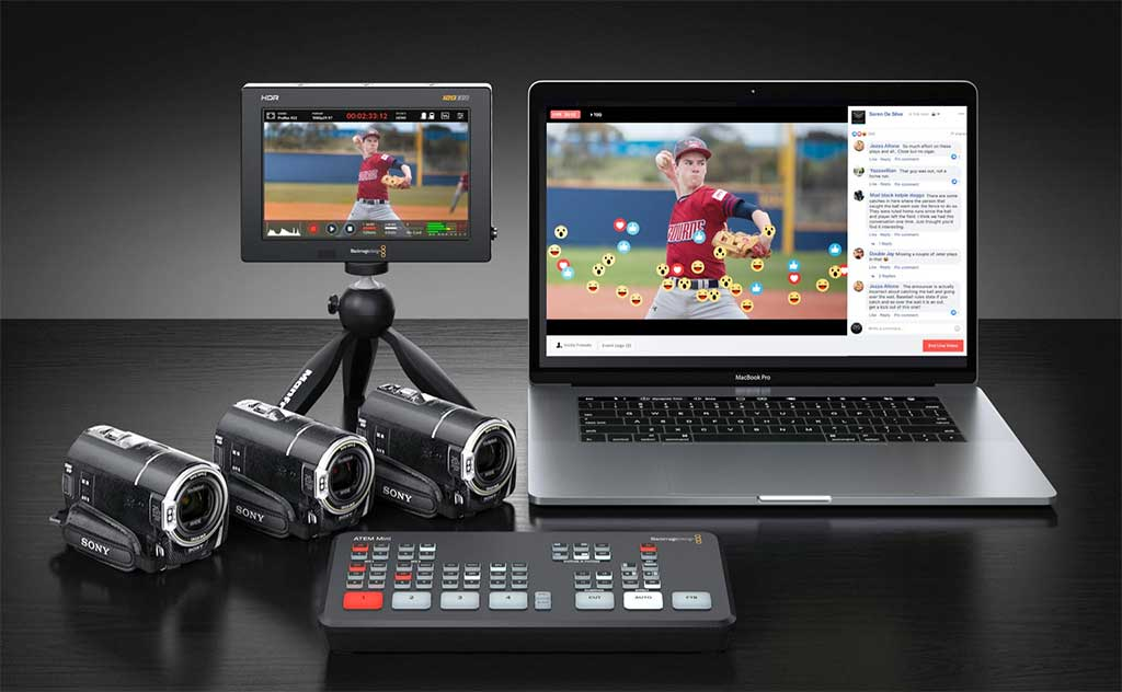 Blackmagic Design ATEM Mini - Action