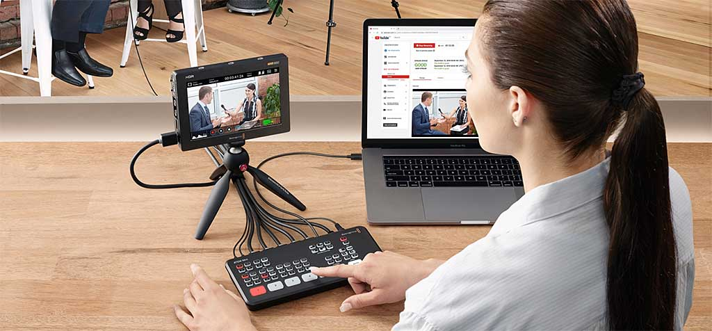 Blackmagic Design ATEM Mini - Produktionsmischer