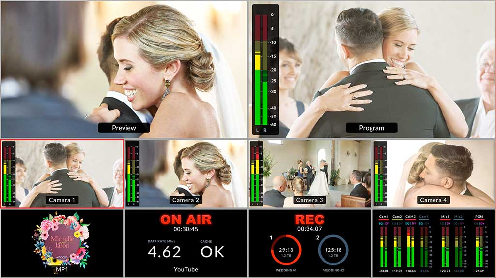 Blackmagic Design ATEM Mini Pro - Multiview