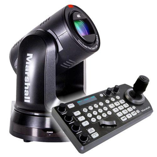 Marshall CV730 BK - PTZ Dome Kamera-Bundle